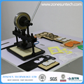 22x14cm Hand leather cutting machine,photo paper,PVC/EVA sheet mold cutter,manual leather mold /Die cutting machine