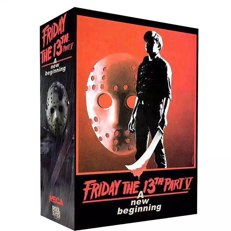 NECA Original Friday The 13th PartV Part5 A New Beginning Jason Voorhees Action Figure Toy Doll  (2)
