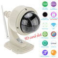 HD 720 Outdoor Waterproof Security CCTV 4X Zoom PTZ Wireless Speed IP Camera Wifi 2.8-12mm Auto Focus Lens Micro SD Card ONVIF