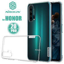 for Huawei Honor 20 Pro 10 9 Case Nillkin TPU Soft Ultra thin Phone Case for Huawei Honor 20 Pro 10 9 8 Slim Silicone Back Cover(China)