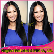 8A Grade Straight Unprocessed Brazilian Virgin Remy Human Hair Full Lace Wigs Lace Front Wigs With Baby Hair For Black Women