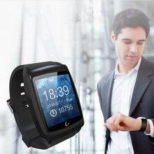 OLED Touchscreen Bluetooth Smart Uhr Männer Sport Handgelenk Smartwatch Tragbares Gerät Elektronik Für Apple IOS Android-Handy