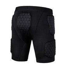 Анти-столкновения быстросохнущие Тренировочные Короткие баскетбольные шорты Джерси колледж возврат футбольные майки Защита тела для мужчин