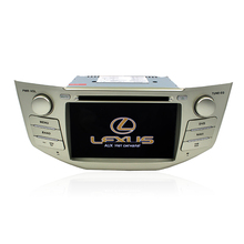 BYNCG rx300 2 Din Auto DVD-Player ure 6,0 Android GPS Radio für rx330, 7 zoll P 1024*600, Dual Core 3G WIFI 1g DRR3 1,7 GHZ