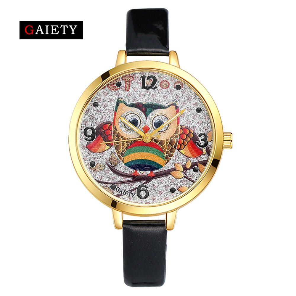 77 Trendy Watch Store 2017 GAIETY Brand New Fashion Leather Women's Dress Watches Ladies Casual Quartz Wristwatches Women Simple Sport Watch Clock