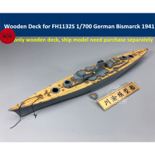 1/700 Scale Wooden Deck for Flyhawk FH1132S German Battleship Bismarck 1941 CY700044