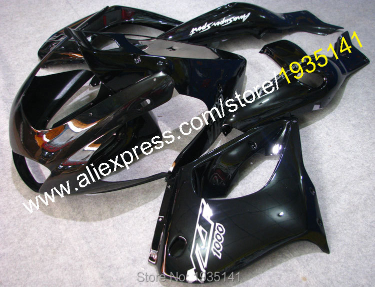 Hot Sales,For Yamaha YZF1000R Thunderace YZF-1000R 1997 - 2007 Motorbike body fairing 97 - 07 Glossy black YZF 1000 R cowling for yamaha yzf 1000 r1 2007 2008 yzf1000r inject abs plastic motorcycle fairing kit yzfr1 07 08 yzf1000r1 yzf 1000r cb02