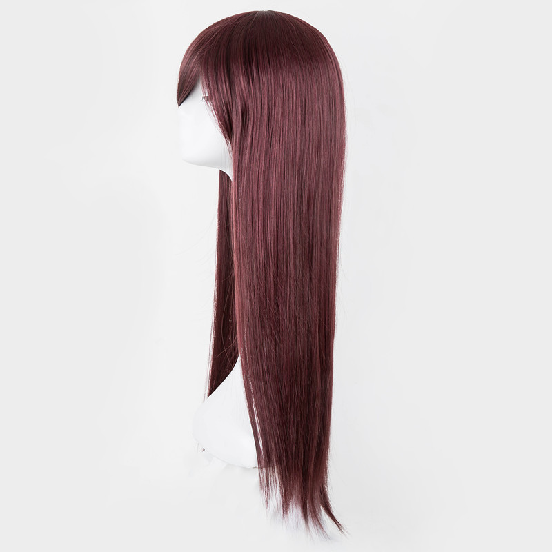 Salon Oblique aliexpress : buy fei show burgundy wig synthetic heat resistant