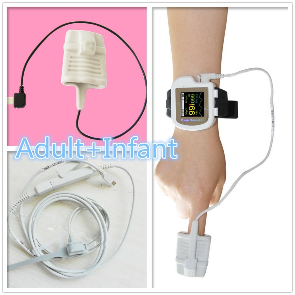 adult and ifant  CE FDA Wrist Pulse Oximeter, Wearable pulse oximeter CMS50I Digitalspo2 monitor,finger pulse rate,blood oxygen