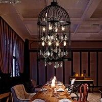 Vintage Industrial pendant lights dining room modern bedroom Suspension Luminaire vintage led pendant light home lighting