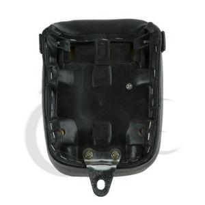 Image 4 - Motocykl syntetyczna skóra czarne tylne siedzenie dla Yamaha Virago 250 XV250 1988 2013 2012 09