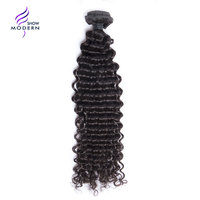 Modern Show Brazilian Best Remy Hair Curly Wave 100% Human Hair Bundles Natural Black Color Can Dyed and Bleached Free Shipping