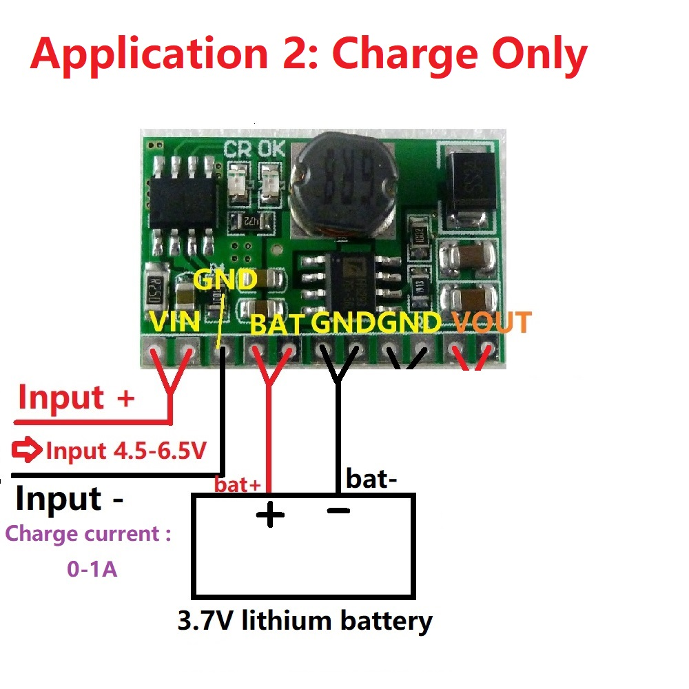 5v 21a Out Ups Mobile Power Diy Board Charger Step Up Dc Completed Solar Battery With Lm317t Current Limiting Circuit Converter Module For 37v 18650 Lithium In Integrated Circuits From Electronic