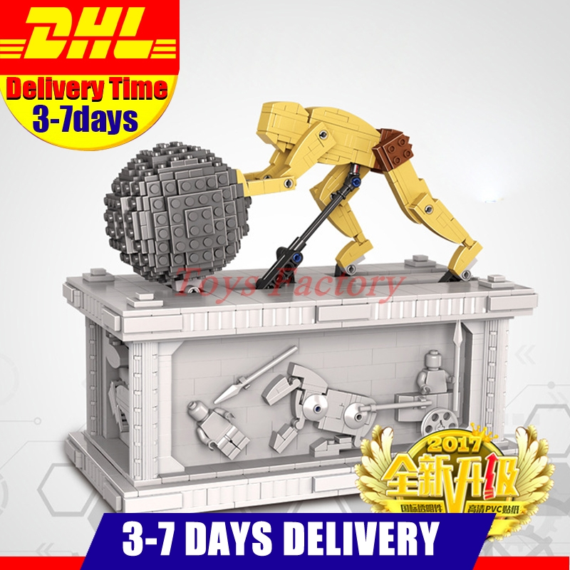 DHL IN Stock Lepin 23017 1462Pcs Movie Series MOC Le Mythe de Sisyphe Building Blocks Bricks to Holiday Toys Gift new lepin 23017 1462pcs movie series moc le mythe de sisyphe building blocks bricks to holiday toys gift