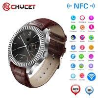 Nuevo N ° 1 D7 Reloj Inteligente Android 4.4 SIM Bluetooth 4.0 Smartwatch 500 mAh GPS WIFI 3G Monitor de Ritmo Cardíaco Portátil Inteligente dispositivos