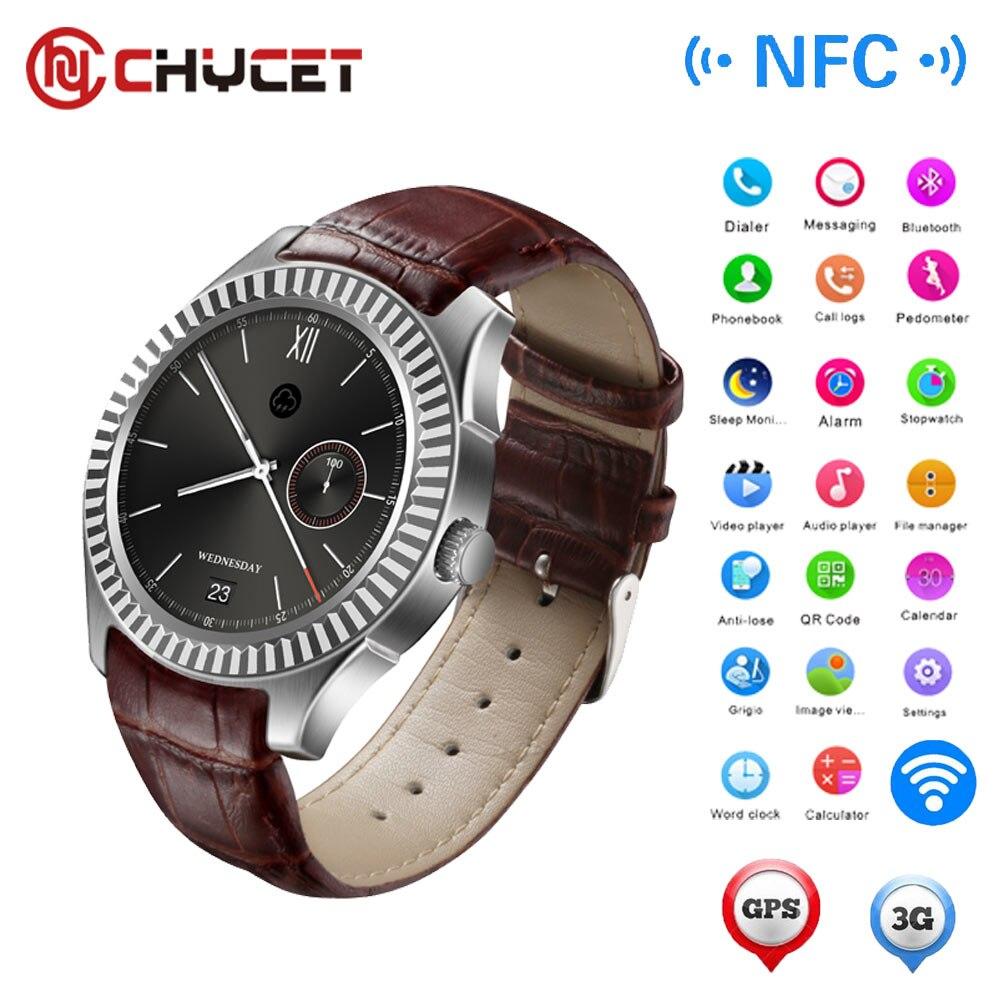 3G Bluetooth Smart Watch ZGPAX S83 Android SIM Phone Wifi Quad Core 4GB Smartwatch 3 0MP