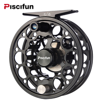 Piscifun Sword Black Fly Fishing Reel With CNC Machined Aluminum Alloy Body 3 4 5 6