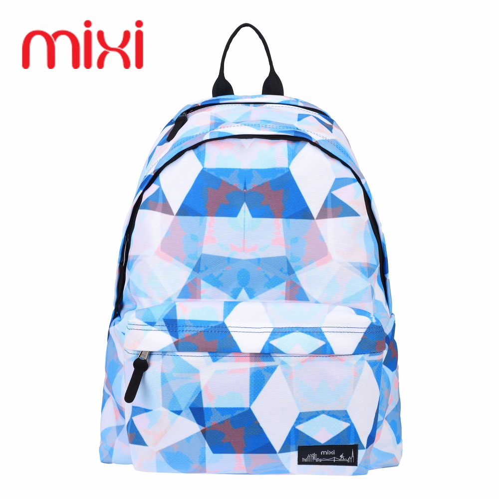 School bags for youth - Mixi School Bags 4 Colour Youth Trend Schoolbag 2017 New Ladies Female Man Shoulder Bags School
