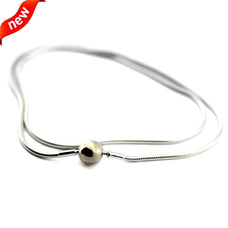 ESSENCE COLLECTION Necklace 925 Sterling Silver Jewelry Original Necklaces for Women DIY Essence Charms Beads Jewelry