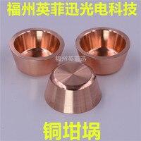 Revestimento ótico da evaporação do feixe de elétron do cadinho de cobre livre de oxigênio do revestimento do cadinho de cobre|Peças e acessórios p/ instrumentos| |  -