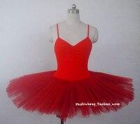 Special Offer Professional Ballet Tutu Dance Costume Adult Organza Sling Conjoined Swan Lake Ballet Dress Figure Skating Dress