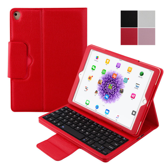 Russian Hebrew Keyboard For Apple iPad 9.7 2017 Pro 9.7 iPad Air 2 iPad 6 iPad  Air iPad 5 Wireless Bluetooth Keyboard 3 Gifts 180c5e3755806
