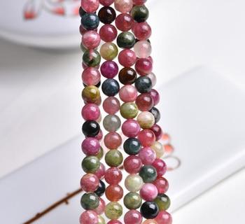 862a4f53440b DIY turmalina Natural Agata cuentas de piedra en forma de gota agita cuentas  sueltas al por mayor para hacer joyería collar pulsera accesorio