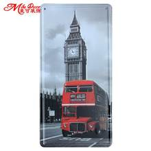 [ Mike86 ] LONDON Double Bus Antique Bar Festival decoration Retro Gift Craft Metal Tin sign D-336 Mix order 30*15 CM(China)