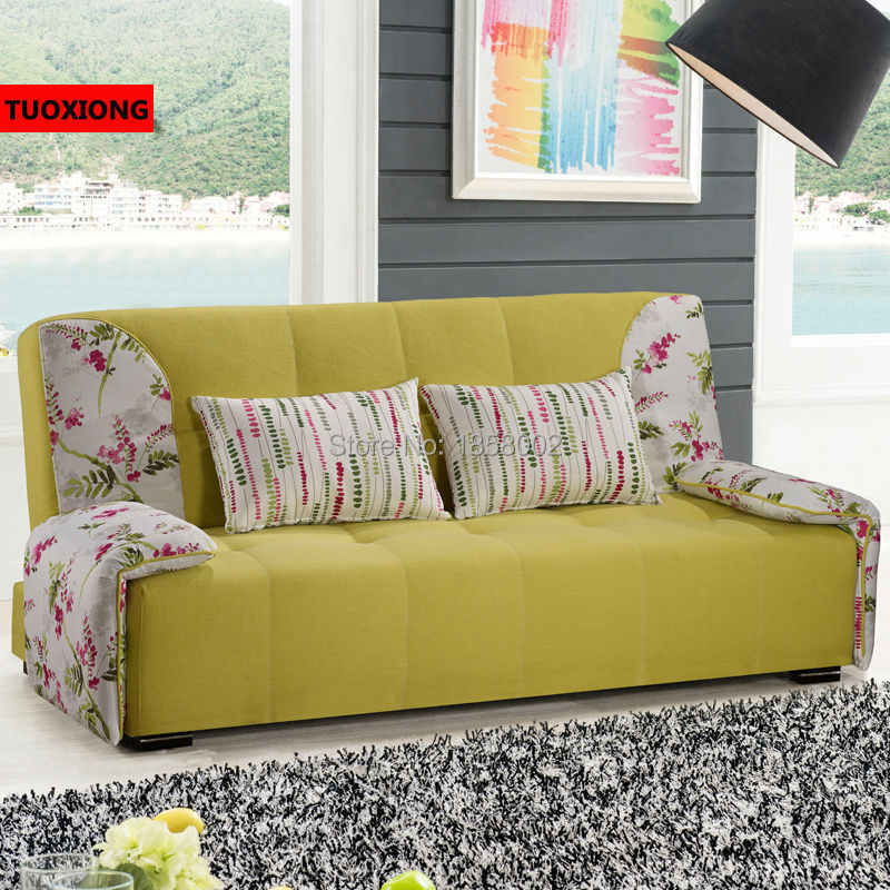 Nueva moda plegable sofá cama sofá muebles juego de sala sofás sofá ...