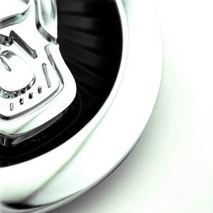 Image 3 - Эмблема на переднюю решетку автомобиля 85 мм 70 мм, значок ABS 3D пантера, Леопардовый рыцарь, прыгающие украшения, «кошки» для XF XJ XJL, аксессуары