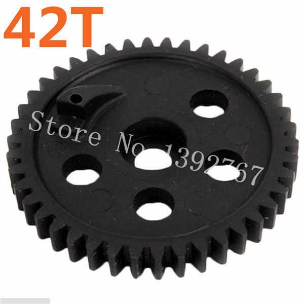 ¿1 piezas HSP 06033 Spur? Engranaje (42 T) para piezas de repuesto de coche de Control remoto modelo 1/10 RC