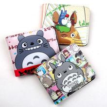 Japoński Anime mój sąsiad Totoro portfel z kieszonką moneta Kawaii torebka dla studentów tanie tanio 9 6 cm od Kreskówki 12 cm Masz Bifold 1 5 cm Zipper Poucht Coin Pocket Interior Compartment Card Holder Photo Holder Note Compartment