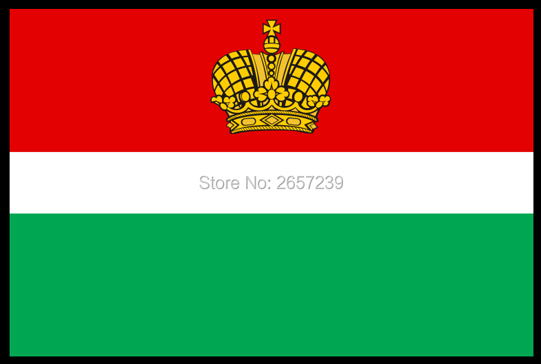 Калужская область флаг Государственный флаг России 150X90 см 100D Polyester3x5FT латунные прокладки пользовательский флаг, бесплатная доставка