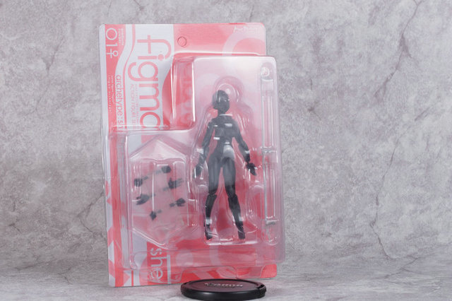 Anime Archetype He She Ferrite Figma Movable Body He She Black Figure Super Movable Model Collectible Model ToysAction & Toy Figures