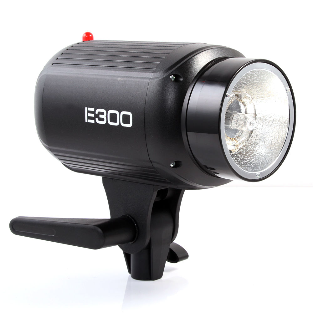 NEW Godox E300 Photography Studio Strobe Flash Lighting Lamp Head 300W 110V/220V