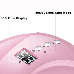 Image 5 - Lampe à ongles UV professionnelle, sèche ongles en Gel 24W