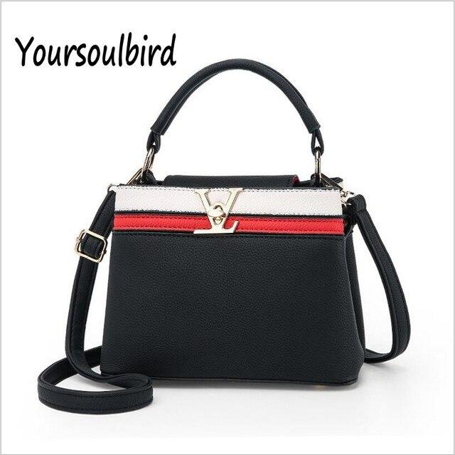 2017 New Spring And Summer Korean Fashion Bags Handbag Shoulder Messenger Baglas Brand Handbags Top Pu