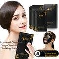 Carbón Negro Máscara de Limpieza Profunda Facial Humectante para La Piel Retiro de La Espinilla del Cuidado de La Cara Máscara de Carbón Activado de La Espinilla Killer