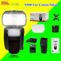 Pixel X900 X900C X900N TTL 2 4G HSS Wireless Control Master Slave S1 S2 Lithium Battery