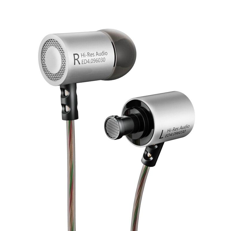 Original KZ ED4 Estéreo Bajo HiFi Smartphone Auricular Sluchawki - Audio y video portátil - foto 3