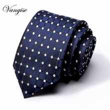 Men silk Embroider Knit Leisure Striped Anchor Ties Skinny Narrow Slim Neck Woven Designer Cravat
