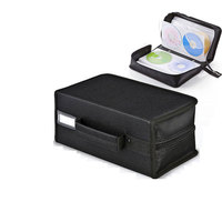 ymjywl CD Case High quality CD Storage Bag 160 discs Capacity CD DVD Box For Home Outdoor Carrying Bag