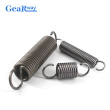 Gearway 5pcs Extension Spring 1.5mm/1.8mm Thickness Springs Small 30-70mm Steel Tension with Hooks