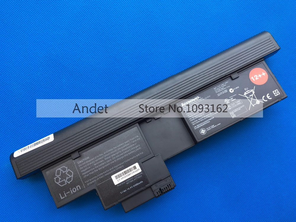 New Original 14.4V 67WH Battery for Lenovo ThinkPad X201 Tablet X201Tt X200T 8 Cell 43R9257 43R9256 42T4658 42T4657  new original for lenovo thinkpad x200 x200s x200 tablet x201 x201i x201s x201 tablet keyboard thailand