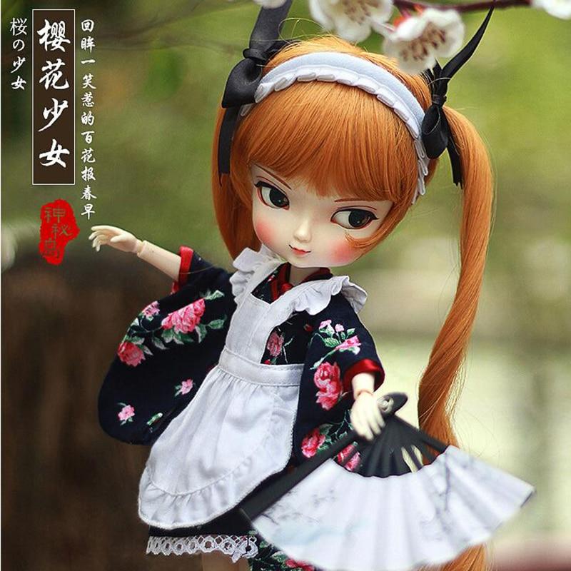 все цены на  35cm 1/6 BJD SD BBgirl doll toys high quality joints dolls DIY girl dolls toys birthday gifts for child children x5  в интернете