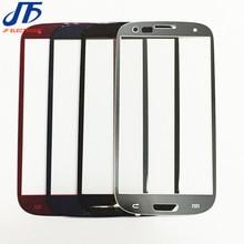 10 cái New Outer LCD Front Screen Glass Lens Bìa Phụ Tùng Thay Thế Lens Cho Samsung Galaxy S3 i9300 i9305 s3 mini Màn Hình Cảm Ứng