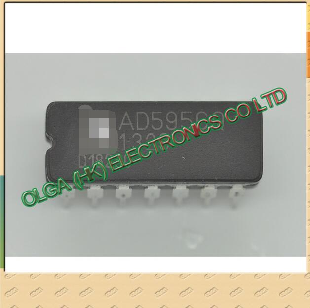 Free shipping new original AD595CQ AD595 CDIP14 with cold compensation Thermocouple Amplifiers