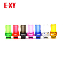 E-XY HOT 2017 Factory Price 510 Plastic Drip Tips Flat Style Drip Tip mouthpieces for 510 atomizer