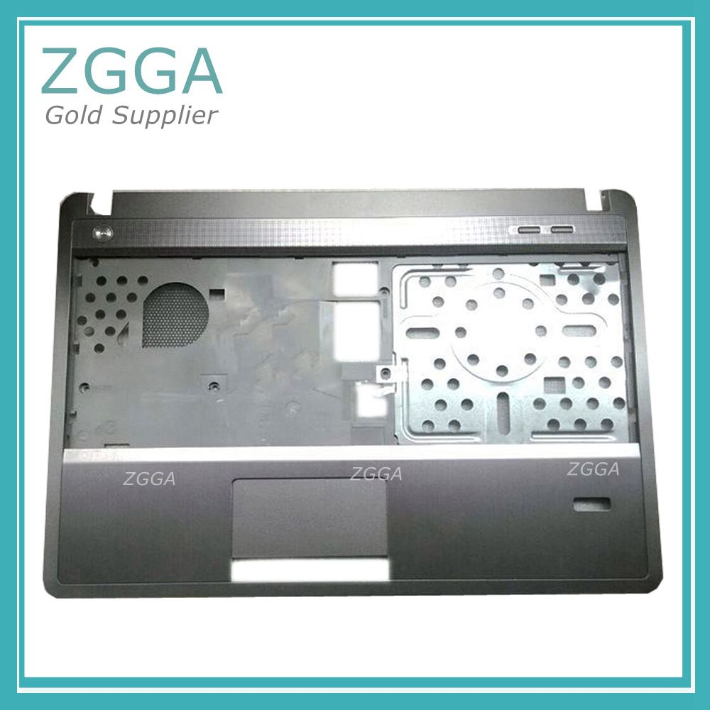 Original NEW Laptop Palmrest For HP ProBook 4440S 4441S 4445S 4446S Top Keyboard Bezel Cover NO Touchpad Upper Case 683666-001 new original for lenovo ideapad u330 u330p us keyboard w bezel palmrest top upper case cover black
