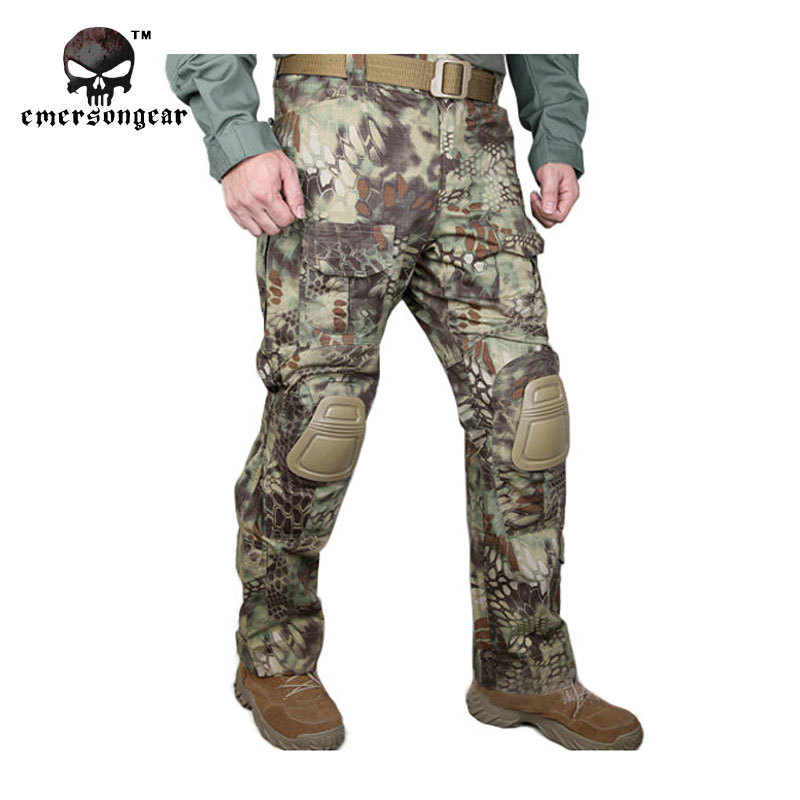 Kryptek Mandrake Emersongear G3 Tactical bdu G3 Combat Pants Emerson Military Army Pants with Knee pad EM7046 автомобиль welly lada 4x4 rally 1 34 39